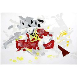 Jean-Paul Riopelle Original Lithograph1968
