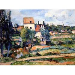 "Cezzanne ""Mill On The Couleuvre Near Auvers"""