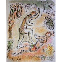 Marc Chagall Hand Signed Lithograph