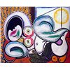 Image 1 : Sleeping Nude- Picasso- Limited Edition on Canvas