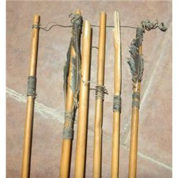 Six South American Antique Arrows