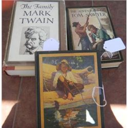 Three Mark Twain Books