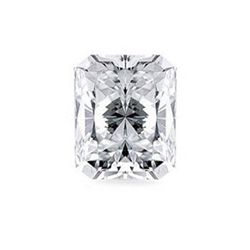 Diamond GIA Cert Rectangle 1.00 ct H VVS2