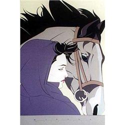 Patrick Nagel CN13 Uframed in mint condition