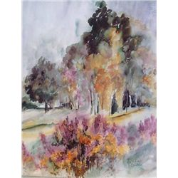 Birches-Signed and Numbered print by Dicken