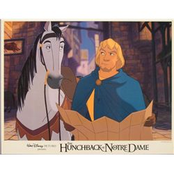 Hunchback of Notre Dame Original Lobby Card Phoebus