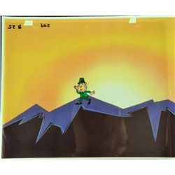 Leprachaun Original Production Cel Cartoon Animation