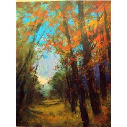 Autumn Afternoon By Schofield Oil 16x20