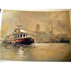The Tug Boat by John Kelly