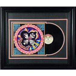Kiss Rock and Roll Over Vint Record Album -Custom Frame