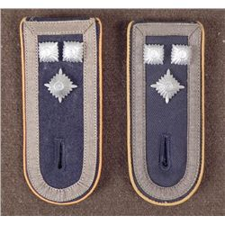 PR GERMAN OFFICER'S SHOULDER BOARDS -MATCHING, SLIP ON