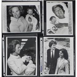 4 Original Kennedy Family Press Photos Babies, Wedding