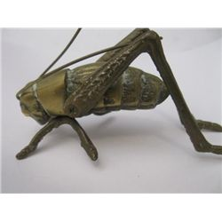 Solid brass Grasshopper