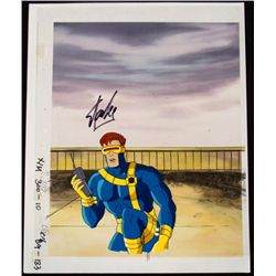 Production Cel Stan Lee Signed Cyclops Original X-MEN