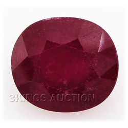 6.08ctw African Ruby Loose Gemstone