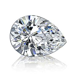 EGL USA 1.99 ctw Certified Pear Brilliant Diamond E,SI2