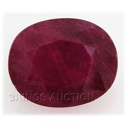 4.54ctw African Ruby Loose Gemstone