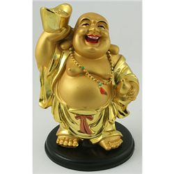 Golden Brass Chinese Buddha Symbols for Wealthy Year