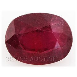 7.48ctw African Ruby Loose Gemstone