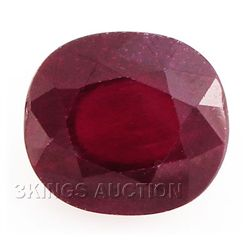 6.58ctw African Ruby Loose Gemstone