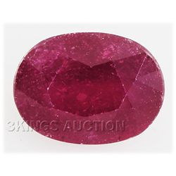 6.70ctw African Ruby Loose Gemstone