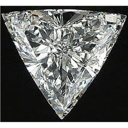 EGL USA 1.22 ctw Certified Trilliant Brilliant Diamond