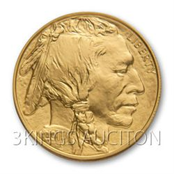 One Ounce 2011 Gold Buffalo Coin Uncirculated
