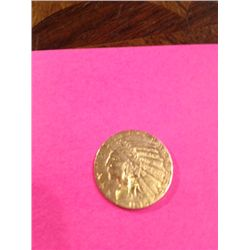 1914 $5 GOLD INDIAN HEAD