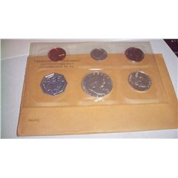 1962 SILVER MINT PROOF SET IN ORIGINAL PACKET