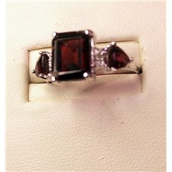 Ladies Fancy Ruby & Diamond Ring