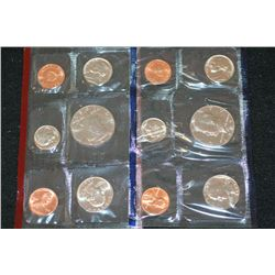 1987 US Mint Coin Set; P&D Mints; UNC