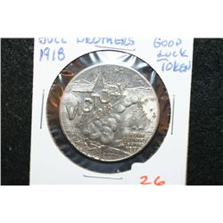 """1918 Brill Brothers """"Good Luck Token"""""""
