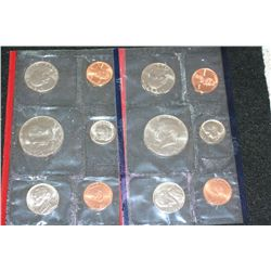 1984 US Mint Coin Set; P&D Mints; UNC