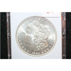 1904-O Silver Morgan $1; MCPCG Graded MS64
