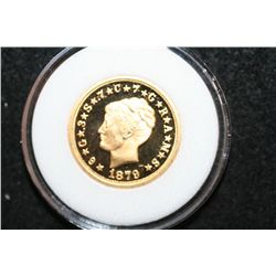 1879 US One Stella $4 REPLICA Coin