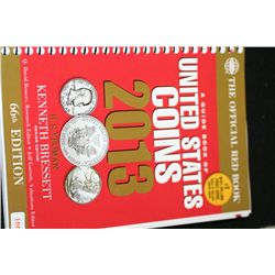 "Whitman Publishing ""The Official Red Book""; A Guide Book Of United States Coins 2013; 66th Edition"