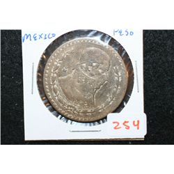 1966 Mexico Un Peso Foreign Coin