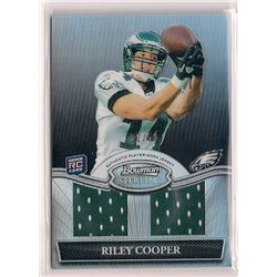 2010 Bowman Sterling Refractor Riley Cooper Dual Player-Worn Jersey Rookie Insert-#50!