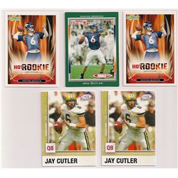Lot of (12) 2006 Jay Cutler Rookie Cards