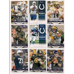 Lot of (25) 2012 NFL Rookie Cards