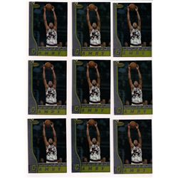 Lot of (12) 1996-97 Bowman's Best Marcus Camby Rookie Cards #R4
