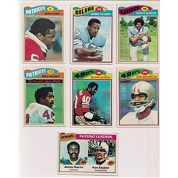 Lot of (30) 1977 Topps Football Cards