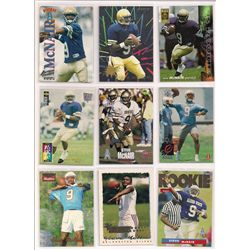 Steve McNair Rookie Card and Graded Card Lot