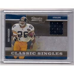 2010 Classics Rod Woodson Game-Worn Jersey Insert Card-#/299!