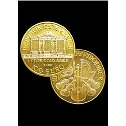 A 1 oz. Gold Austrian Philharmonic Bullion