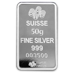 A 1oz. Pamp Suisse Silver Bar