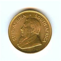 A 1oz. Gold Krugerrand Bullion