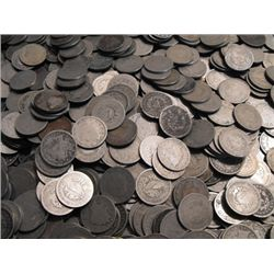 Lot of (500) V Nickels