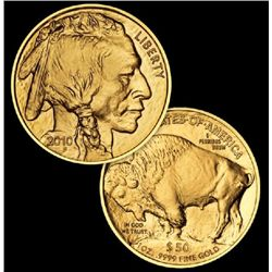 (1) Gold  1 oz. Buffalo Bullion