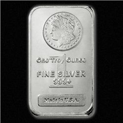 Morgan Design SIlver Bullion Bars 1 oz. Pure